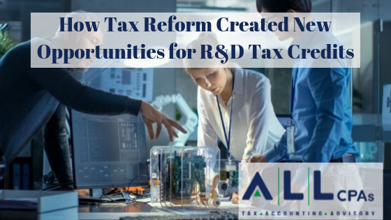 How Tax Reform Created New Opportunities for R&D Tax Credits