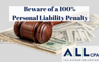 Beware of a Personal Liability Penalty